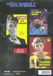 Revue Rocambole N.38 ; Les Réducteurs De Textes - 4ème de couverture - Format classique