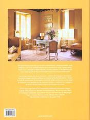 Ju-country interiors - 4ème de couverture - Format classique