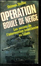 Operation Boule De Neige - Couverture - Format classique