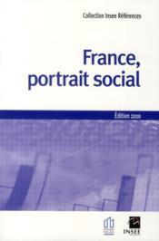 France, portrait social (édition 2010) - Couverture - Format classique