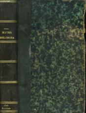 Mater Doorosa - Couverture - Format classique