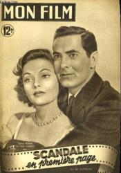 Mon Film N° 178 - Scandale En Premiere Page - Couverture - Format classique