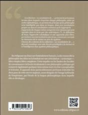 Le vocabulaire de locke - 4ème de couverture - Format classique