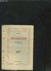 Resurrection - Couverture - Format classique