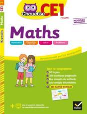 Chouette ; maths ; CE1 - Couverture - Format classique