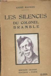 Les silences du colonel Bramble - Couverture - Format classique