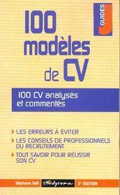 100 modeles de cv - Intérieur - Format classique
