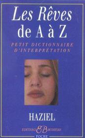 Les rêves de A à Z - Intérieur - Format classique
