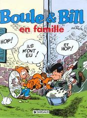 Boule & Bill en famille - Intérieur - Format classique