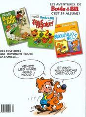 Boule & Bill en famille - 4ème de couverture - Format classique