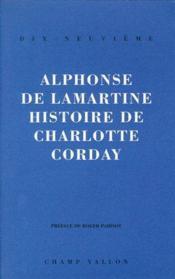Histoire de charlotte corday - Couverture - Format classique