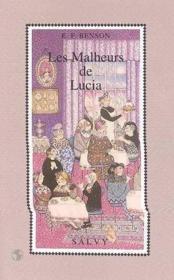 Les Malheurs De Lucia - Couverture - Format classique