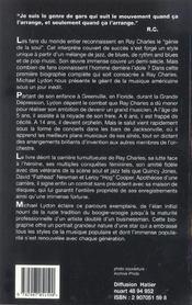 Ray Charles - 4ème de couverture - Format classique