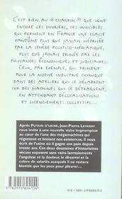 Tranches De Chagrin - 4ème de couverture - Format classique