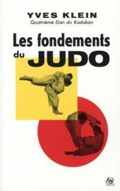 Les fondements du judo - Couverture - Format classique