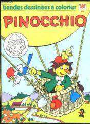 Bandes Dessinees A Colorier. Pinocchio. - Couverture - Format classique