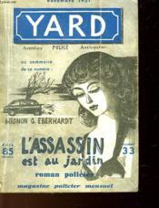 Le Yard - L'Assassin Est Au Jardin - N°33 - Couverture - Format classique