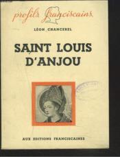 Saint Louis D'Anjou - Couverture - Format classique