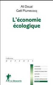 L'économie écologique - Couverture - Format classique