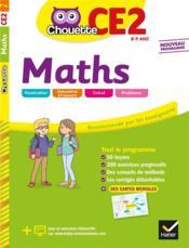 Chouette entraînement ; maths ; CE2 - Couverture - Format classique