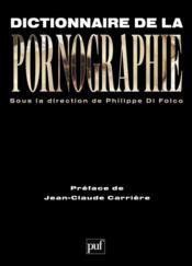Dictionnaire de la pornographie - Couverture - Format classique