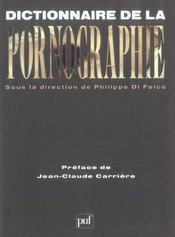 Dictionnaire de la pornographie - Intérieur - Format classique