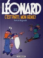 Léonard t.37 ; c'est parti, mon génie ! - Intérieur - Format classique
