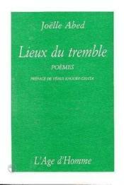 Lieux Du Tremble - Couverture - Format classique