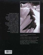 Souvenirs Des Sommets - 4ème de couverture - Format classique