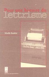 Essai sur le lettrisme - Intérieur - Format classique