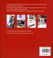 Fleurs de Digoin à broder et à coudre - 4ème de couverture - Format classique