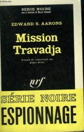 Mission Travadja. Collection : Serie Noire N° 981 - Couverture - Format classique