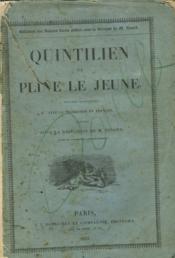 Quintilien Et Pline Le Jeune (Incomplet) - Couverture - Format classique