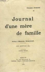 Journal D'Une Mere De Famille - Couverture - Format classique