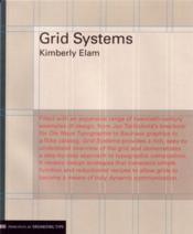Grid systems - Couverture - Format classique
