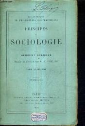 Principes De Sociologie / Tome Quatrieme /2e Edition. - Couverture - Format classique