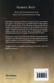 Aeternia t.1 ; la marche du prophète - 4ème de couverture - Format classique