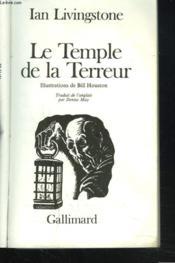 Le temple de la terreur - Couverture - Format classique