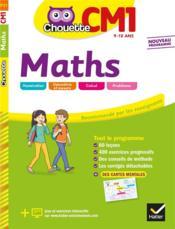 Chouette entraînement ; maths ; CM1 - Couverture - Format classique