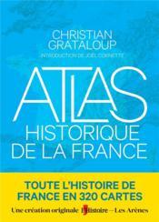 Atlas historique de la France - Couverture - Format classique