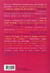 22 leçons de philosophie par et pour les mauvaises filles, les goudous, les travelos, les couires, les petits pédés et les grandes folles - 4ème de couverture - Format classique