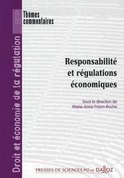 Responsabilite et regulations economiques - Intérieur - Format classique