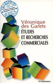 Etudes De Recherche Commerciales - Couverture - Format classique