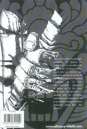 Le sabre du démon t.2 - 4ème de couverture - Format classique