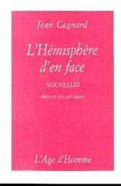 L'Hemisphere D'En Face - Couverture - Format classique