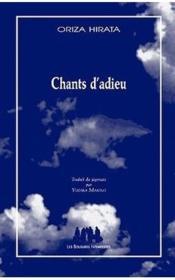 Chants d'adieu - Couverture - Format classique