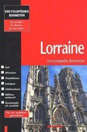 Encyclopedies Regionales ; Lorraine - Couverture - Format classique