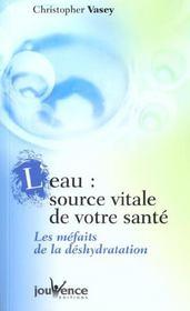 Eau (l') : source vitale de votre sante - Intérieur - Format classique