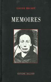 Mémoires de Louise Michèle - Intérieur - Format classique