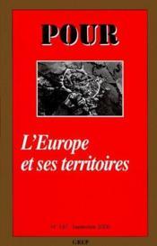 L'Europe et ses territoires - Couverture - Format classique